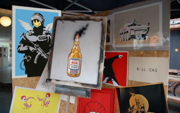 Bristol Anarchist Book Fair, 2011, Photo by Butterfly Art News