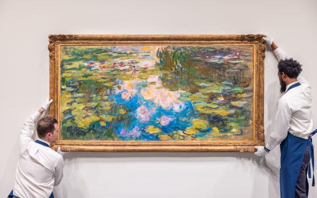 Claude Monet, Le Bassin aux Nymphéas. Courtesy Sotheby's