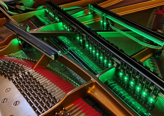 Electromagnetic Piano. Credit David Shea/Monica Lim/Mirza Ceyzar/Georgia Tech School of Music