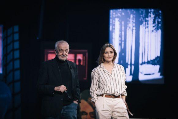 Gianni Canova e Greta Scarano, ospite di Luce Social Club