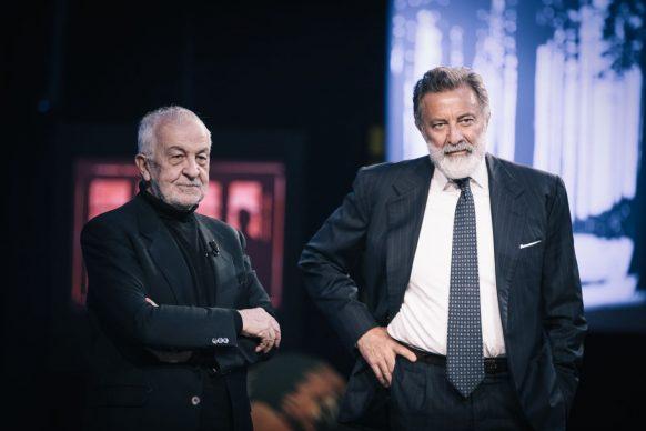 Gianni Canova e Luca Barbareschi, ospite di Luce Social Club