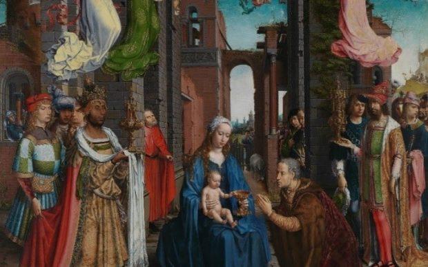 Jan Gossaert (Jean Gossart) The Adoration of the Kings, 1510-15 © The National Gallery, London