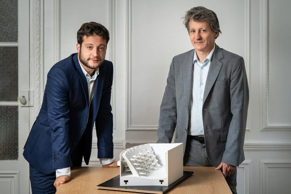 L.R. Nicolas Chican, Pieree Chican, co-founders di Oma Cinema © Ōma Cinema