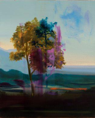 Olivier Masmonteil, Sans Titre, 2020. Huile sur toile, 55 x 46 cm