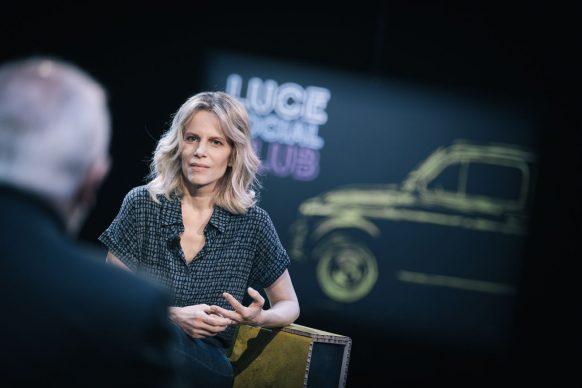 Sonia Bergamasco, ospite di Luce Social Club