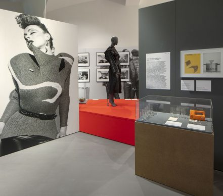 "Installation view  ""German Design 1949–1989: Two countries,  one history"" © Vitra Design Museum. Photo: Ludger Paffrath © VG Bild-Kunst,  Bonn 2021"