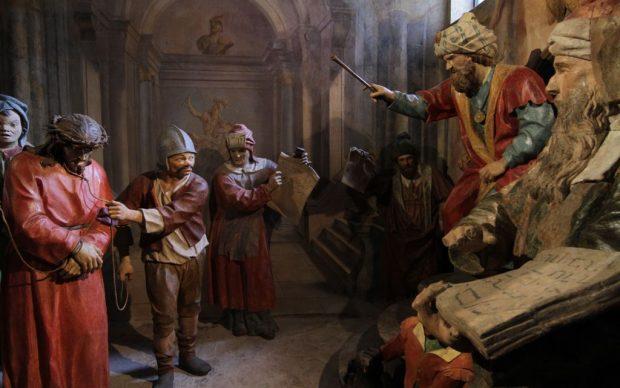 Via Crucis di Beniamino Simoni a Cerveno