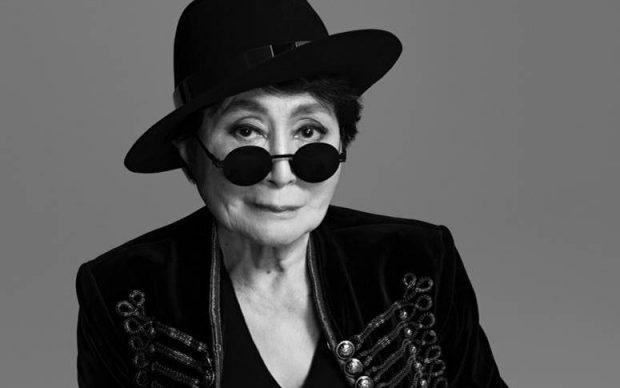 Yoko Ono. Photo by Matthew Placek © Yoko Ono