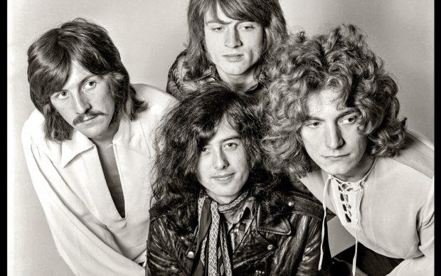 Led Zeppelin © Dick Barnatt 2021