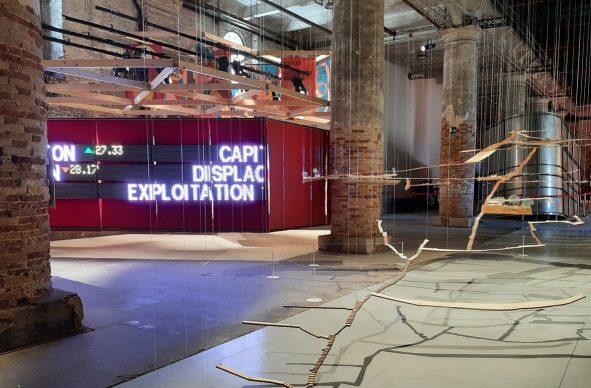 17. Mostra Internazionale di Architettura di Venezia, 2021. Installation view, Arsenale. Photo Arianna Testino
