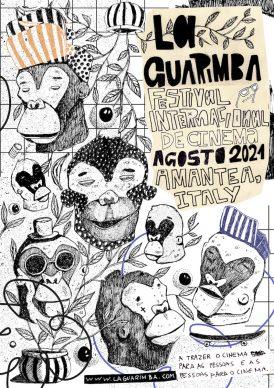 Cesah, Brasile, locandina ufficiale. Courtesy La Guarimba International Film Festival
