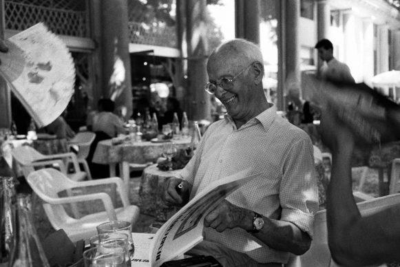 Henri Cartier-Bresson, Parigi, 1986 © 2021 Ferdinando Scianna