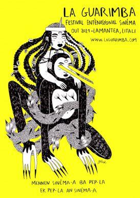 Gwladys Gambie, Martinica, locandina ufficiale. Courtesy La Guarimba International Film Festival