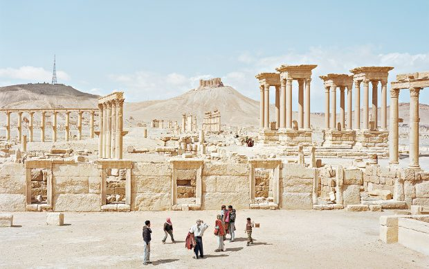Alfred Seiland, Tadmor, Palmyra, Siria, 2011 © Alfred Seiland