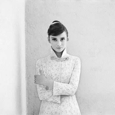 Audrey Hepburn for War and Peace, 1955 © Milton H. Greene / Elizabeth Margot Collection