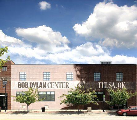 Bob Dylan Center. Exterior Rendering. Ryan Botts / Olson Kundig