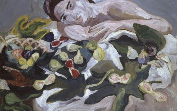 Carlo Levi, Donna e frutta, 1933, olio su tela, 73 x 92 cm. GAM – Galleria Civica d'Arte Moderna e Contemporanea, Torino Fondazione Guido ed Ettore De Fornaris
