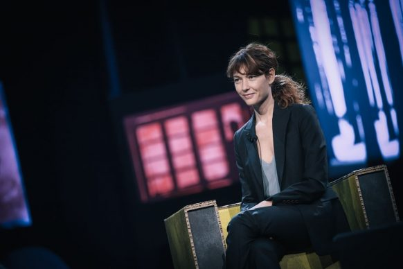 Cristiana Capotondi, ospite di Luce Social Club
