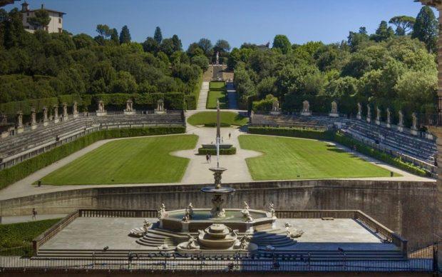 Il Giardino di Boboli, courtesy Le Gallerie degli Uffizi