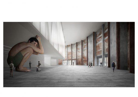 Il progetto per la nuova GAMeC di Bergamo. Copyright C+S Architects, Carlo Cappai, Maria Alessandra Segantini, Treviso | Londra