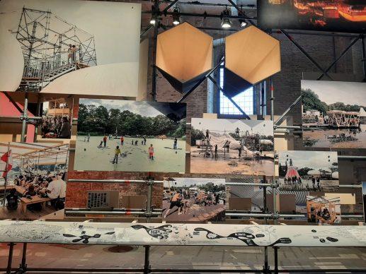 Instances of urban practices, 17. Mostra Internazionale di Architettura di Venezia, 2021. Photo Arianna Testino