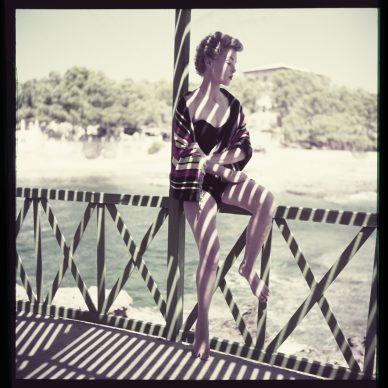 Loredana Taperalli, Majorca Fashion session for LIFE magazine, Majorca, Spain, 1952 © Milton H. Greene / Elizabeth Margot Collection