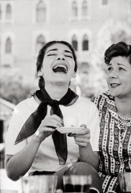 Maria Callas, Venezia, 1957 © Archivio Mario De Biasi / courtesy Admira, Milano