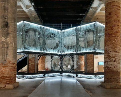 Maison Fibre, 17. Mostra Internazionale di Architettura di Venezia, 2021. Photo Arianna Testino