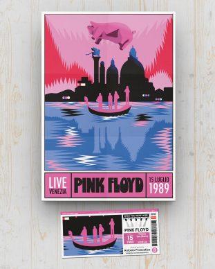 Pink Floyd - Piazza San Marco - Venezia - July 15 1989 - Antonio Pronostico