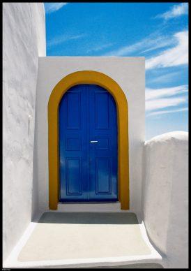 Porta sul cielo, Santorini, 1986 © Elio Ciol
