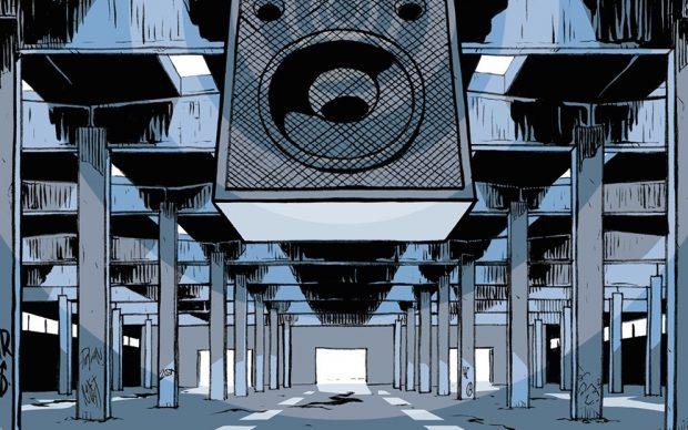 Roberto Grossi, Cassadritta, Coconino Press, Bologna 2021. Immagine di copertina. Courtesy l'editore