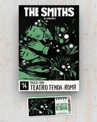 Smiths - Teatro Tendastrice - Roma - May 14 1985 - Alessandro Baronciani