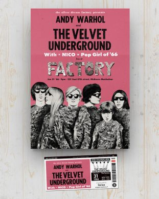 Velvet Underground - The Factory - New York (NY) - USA - January 31 1966 - Ilarius
