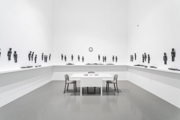 """Installation view of """"Sanatorium"""", Pedro Reyes at maat – Museum of Art, Architecture and Technology, 2021. Courtesy of EDP Foundation. Photography by Vasco Vilhena"""