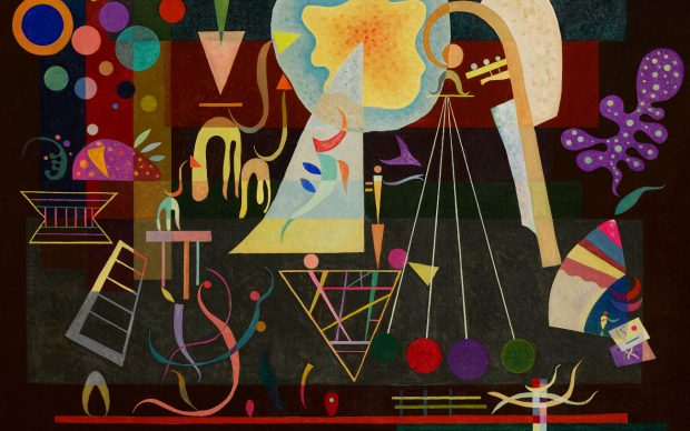 Wassily Kandinsky, Tensions calmées. Courtesy Sotheby's