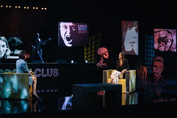 Hilary Tiscione, ospite di Luce Social Club