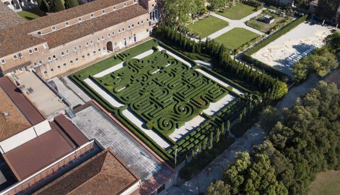 Labirinto Borges. Photo Matteo De Fina, Courtesy of Fondazione Cini