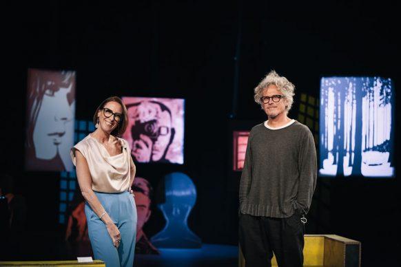 Martina Riva e Niccolò Fabi, ospite di Luce Social Club