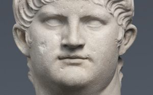 Marble portrait of Nero (Type IV), Italy, AD 64–68. Photo by Renate Kühling. Courtesy of State Collections of Antiquities and Glyptothek, Munich